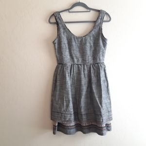 Anthropologie freeway ethnic Mexico dress lined